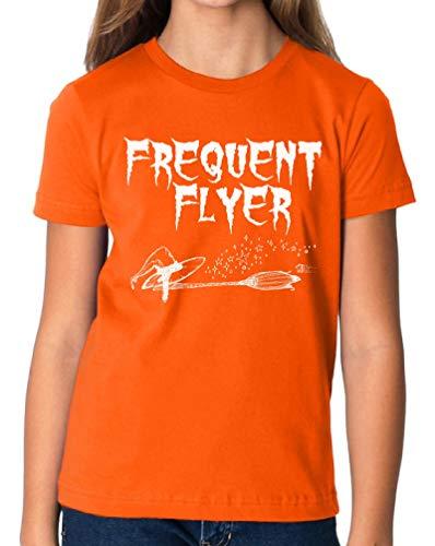 Vizor Kids Halloween Pumpkin Shirt Trick Treat Tshirt Halloween Party Gifts Frequent Flyer S