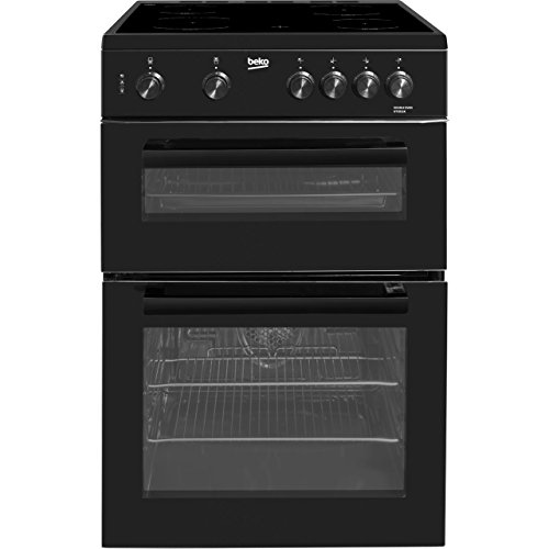 Beko KTC611K Freestanding Electric A Rated Cooker - Black
