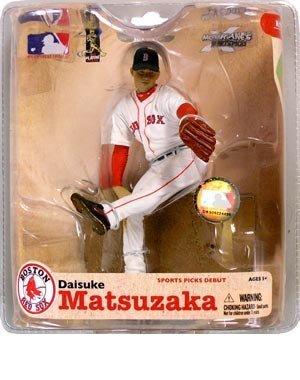 McFarlane Toys Action Figure - MLB Sports Picks Series 21 - DAISUKE MATSUZAKA (World Series Patch) by Unknown