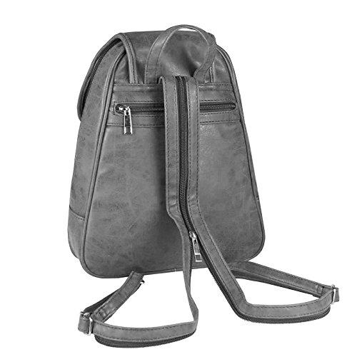 Collection blue Backpack BxHxT Grey cm navy Women's 26x28x10 cm JJ 25x30x10 dpwOcfqUxd