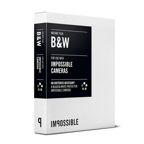 Impossible PRD2790 Film for Impossible Cameras (Black/White) - Two Pack