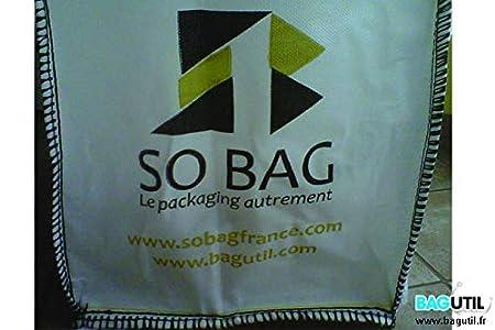 bagutil - Bolsa, autoportante, jardín - jardisac blanco 150L ...