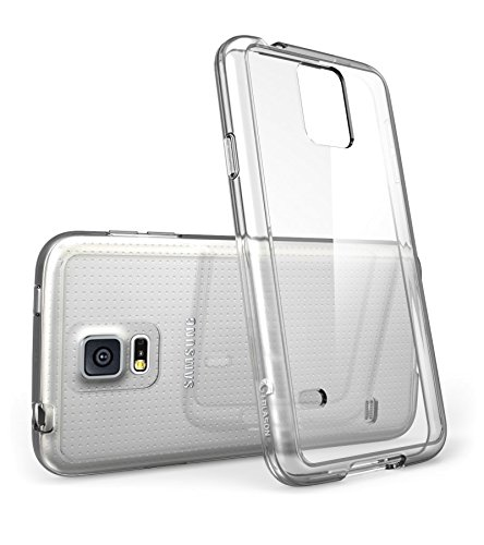 factory authentic 260a2 d86d4 i-Blason Samsung Galaxy S5 Case - Scratch Resistant Hybrid Clear Case /  Cover with TPU Bumper