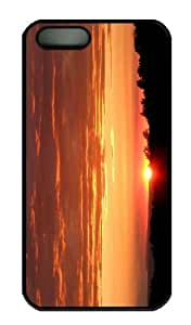 Case For Iphone 5/5S Cover - Customized Unique Design Nature Landscape Sun And Sky 20 ...