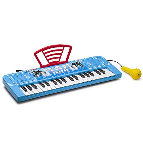ROFAY Kids Piano, 37 Keys Multi-Function Electronic Organ Musical Kids Piano Teaching Keyboard for Toddler Early Learning Educational with MP3 Music Function for Kids Children Toys from ROFAY