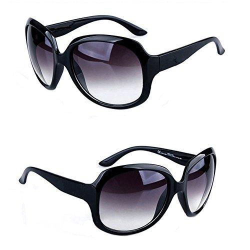 FUNOC Womens Designer Large Frame Oversized Polarized Sunglasses - Sunglasses Oval Oversized