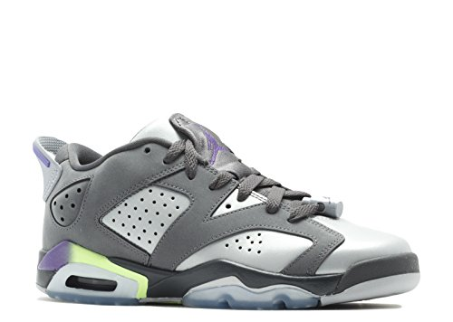 NIKE Air Jordan 6 Retro Low GG (GS) - 768878-008 - Size 7 by NIKE