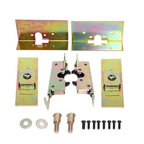 BETTERCLOUD Large Locking Cat Jaw Claw Door Latches w/Installation Kit Bear Type Grip Latch ()