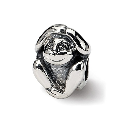 Sterling Silver Reflections Monkey - 9
