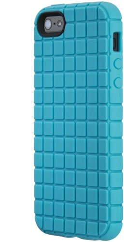 Speck Products PixelSkin Rubberized Case for iPhone 5 & 5S  - Peacock Blue