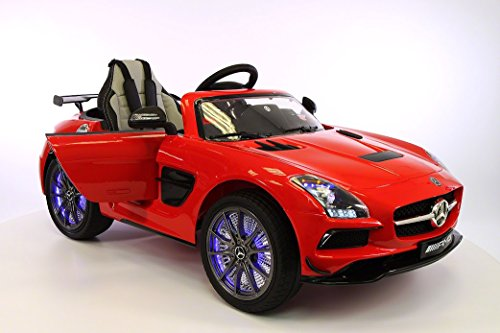 Ride on Toy for Kids Electric Car Mercedes Benz SLS AMG 12V