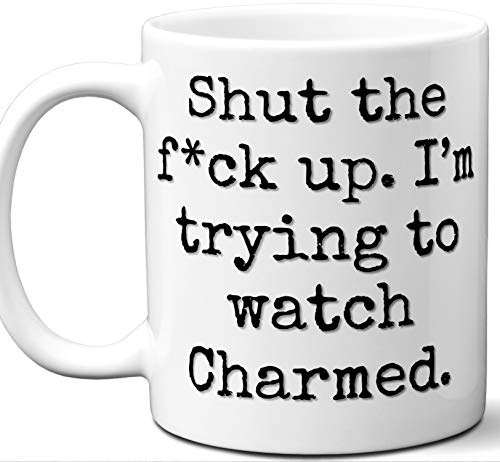 (Charmed Gift Mug. Funny Parody TV Show Lover Fan
