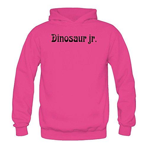 Tommery Women's Dinosaur Jr Logo Logo Long Sleeve Sweatshirts Hoodie