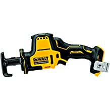 Dewalt DCS369BR ATOMIC 20V MAX Brushless Lithium-Ion 5/8 in. Cordless One-Handed Reciprocating Saw (Tool Only) (Renewed)