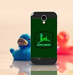 Cute Funda Case for Samsung Galaxy S4 i9500 Brand Logo John Deere Snap On Hardshell Slim High Impact Drop-Proof Creative