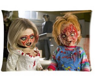 Horror Movies Seed of Chucky Pillowcases Custom 20''x30'' Two Sides Cool Comfortable Pillow Case