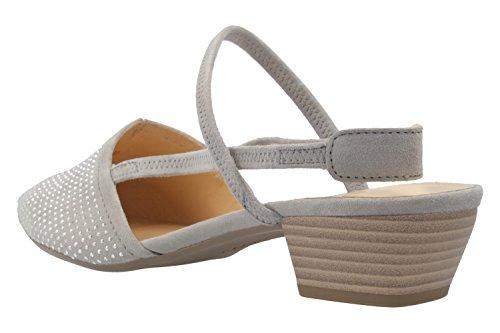 65 Gabor 19 632 Stone Niria Clair Shoes Gris HxFqwp5B