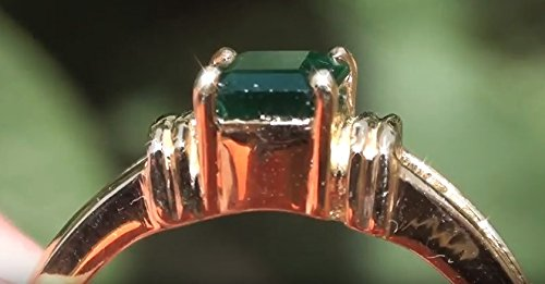Swat Valley Emerald .87ct Imparts a wonderful rejuvenating quality, thought to combat aging and when placed appropriately, to re-vitalize tired organs by Swat Valley Emerald
