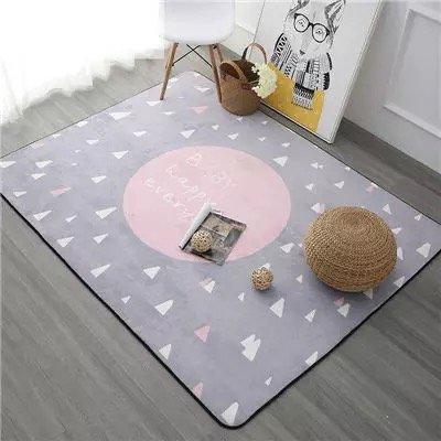 KOOCO Sognare un tappeto per la vendita 120x180cm addensare Soft camera per bambini Tappeto gioco moderno camera da letto Tappeti di grandi tappeti rosa per soggiorno, Blu, 100cmx150cm