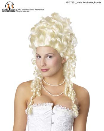 Marie Antionette Wig (Marie Antionette Wigs)