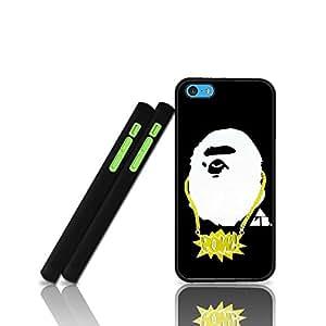 Hennas - Camo Army Iphone 5C Hard Plastic Shell Phone Funda Case Anti Scratch Dust-Proof Slim Protective Funda Case Bape Back Film Protector Skin For Girls