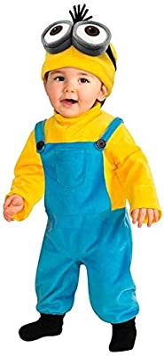 DISBACANAL Disfraz Minion Kevin para bebé - -, 1-2 años: Amazon.es ...