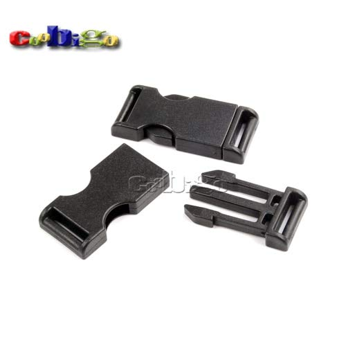 Buckes - 100pcs Pack 3/4''(20mm) Side Release Buckle for Outdoor Sports Bags Students Bags Luggage #FLC375-20