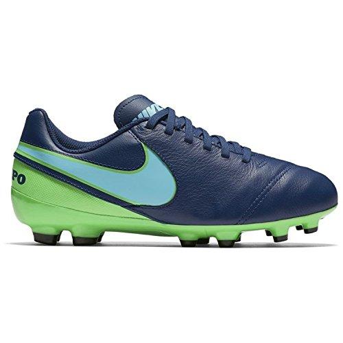 Nike Unisex-Erwachsene 819186-443 Fußballschuhe ICEBLUE/MILTRY BLU-M