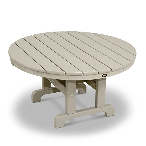 MD Group Outdoor Conversation Table Gray Solid heavy Duty Lumber Weather Resistant Furniture (And Staining Outdoor Furniture Wood Sealing)