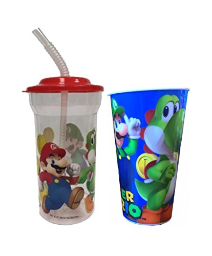 Super Mario Tumbler and Cup Gift Set