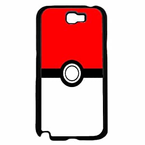 Pokeball - TPU RUBBER SILICONE Phone Case Back Cover Samsung Galaxy Note II 2 N7100