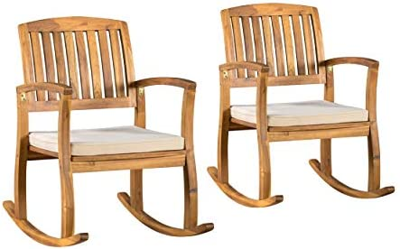 Christopher Knight Home Selma Acacia Rocking Chairs