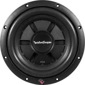 Rockford Fosgate R2 Ultra Shallow 12-Inch 2 Ohm DVC Subwoofer (12 Subs Shallow)