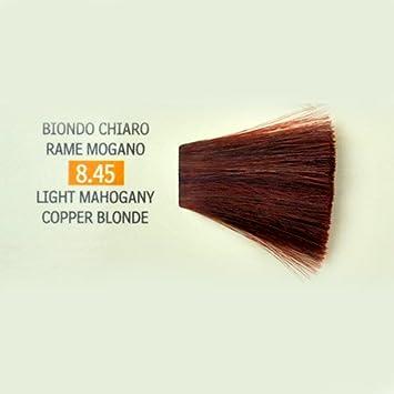 Tinte para Cabello 8.45 Rubio Claro Cobre Caoba Genius Color ...