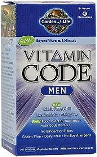 Vitamin Code Men   120 Caps By Garden Of Life Mm