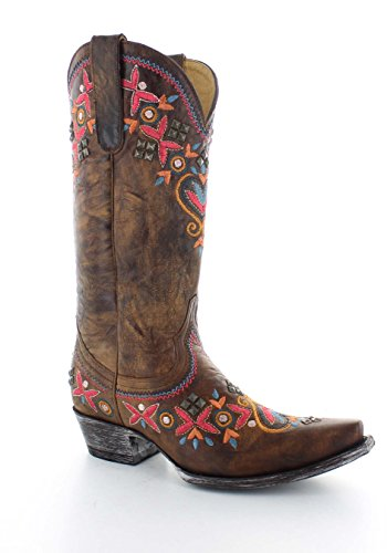 Old Gringo Women's Alameda 13In Boots - Brass - 9 (Old Gringo Women Boots)
