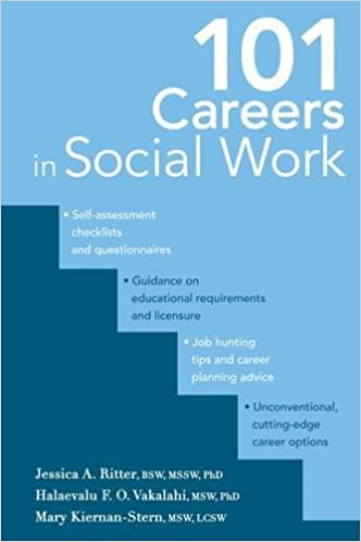 101 Careers in Social Work: Dr  Jessica A  Ritter BSW MSSW PhD, Ms