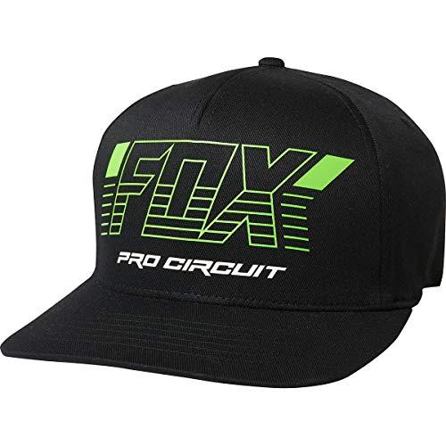 Fox Racing Men's Pro Circuit Flexfit Hats,Large/X-Large,Black
