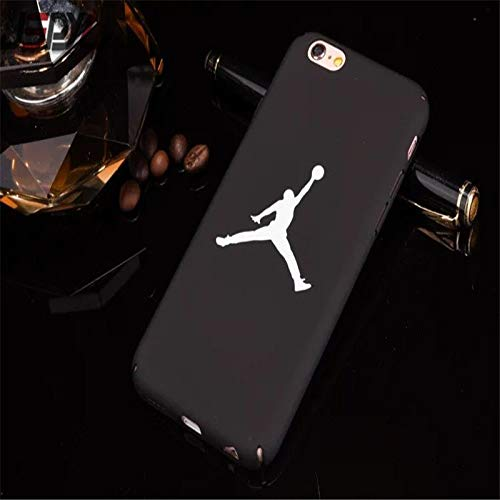1 piece Cool Flyman Jordan Cover Case For iPhone 7 8 Plus 6 S 6S 6Plus Celular Hard PC Phone Carcasa Cases For iPhone X 5 Ss SE Fundas]()