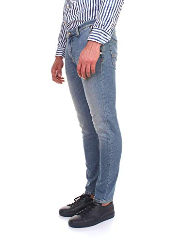 Uomo Jeans Blu Jdelon7151 Barba Cotone z0TqT5