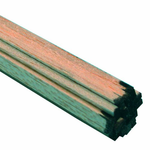 Midwest Products 6046 Micro-Cut Quality Balsa 36 Inch Strip Bundle, 0.125 x 0.25 (Balsa Wood Strips)