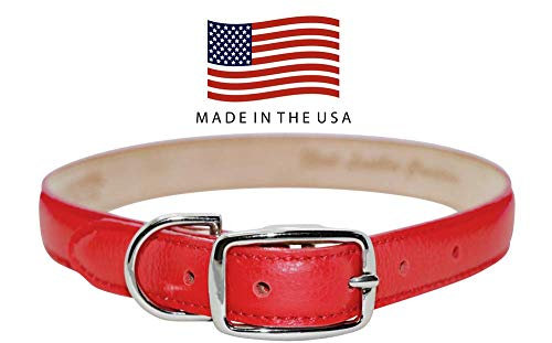 Real Leather Creations Dog Collar