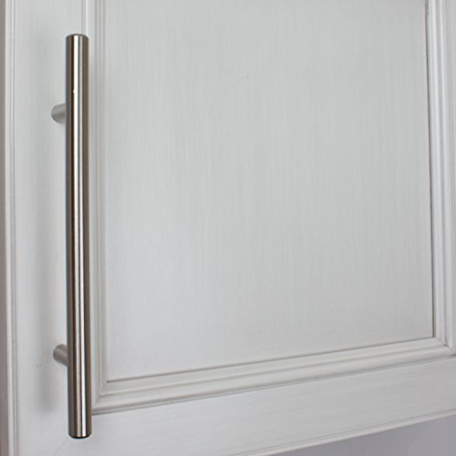 GlideRite Hardware 5008-128-SS-50 Solid Handle Bar Pulls, 50 Pack, 5'' x 8'', Stainless Steel by GlideRite Hardware (Image #3)