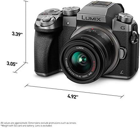 Panasonic Lumix G7KS 4K Mirrorless Camera, 16 Megapixel Digital Camera, 14-42 mm Lens Kit, DMC-G7KS 41LSxIkRQFL