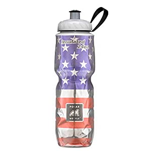 Polar Bottle Insulated Water Bottle Limited Edition (24-Ounce, USA Limited Edition)