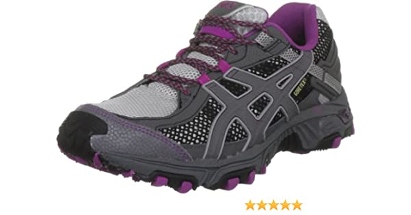 ASICS LADY GEL-TRABUCO 14 GORE-TEX Trail Zapatillas Para Correr - 39: Amazon.es: Zapatos y complementos