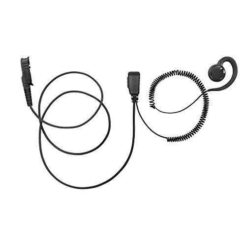 (BOMMEOW BSE15-AX C Shape Earpiece Swivel Style Earhanger for Motorola Mototrbo DEP550 DEP570 XPR3500)