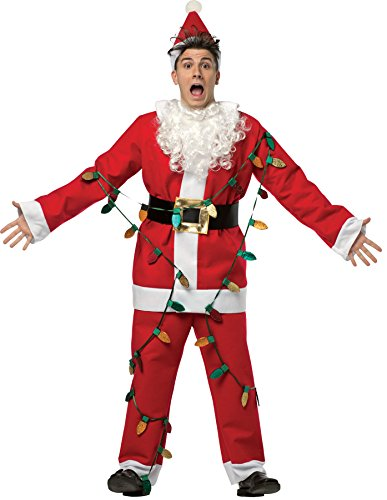 Mens National Lampoons Christmas Vacation Santa Suit Adult Costume Mens Costume