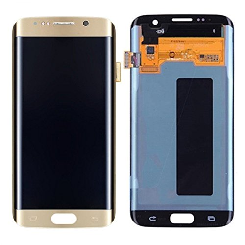 LCD Display Touch Screen Digitizer Assembly Replacement for Samsung Galaxy S7 Edge G935A G935V G935P G935T G935F (Gold)