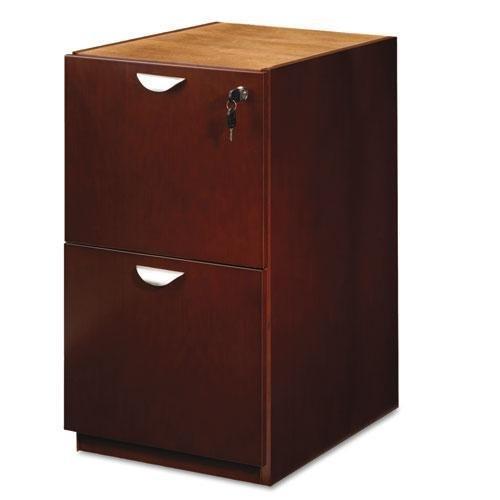 Reg Mayline MPFF28MC Mira Series File/File Desk Pedestal, 15w x 28d x 27¾h, Medium -